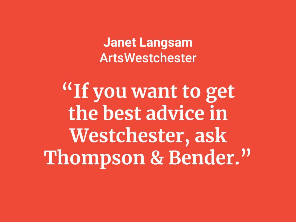 Janet Langsam • ArtsWestchester